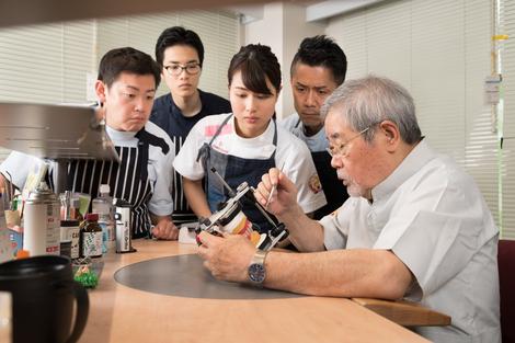 稲葉繁先生の直接指導